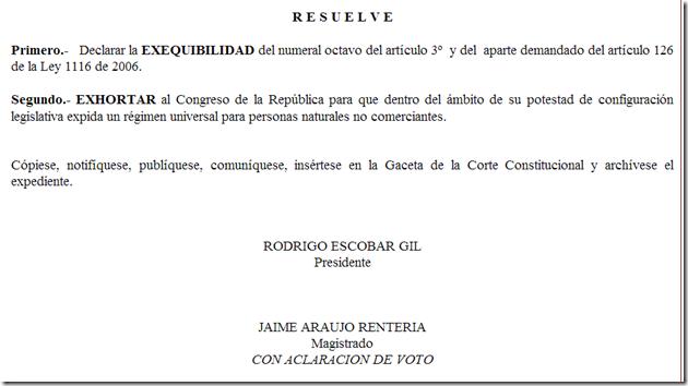 Sentencia C-699 de 2007
