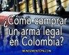 armas legales en Colombia
