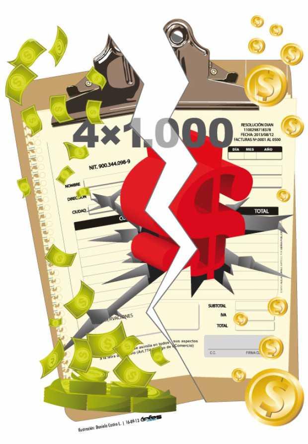 movimiento a los gravámenes financieros 4x1000