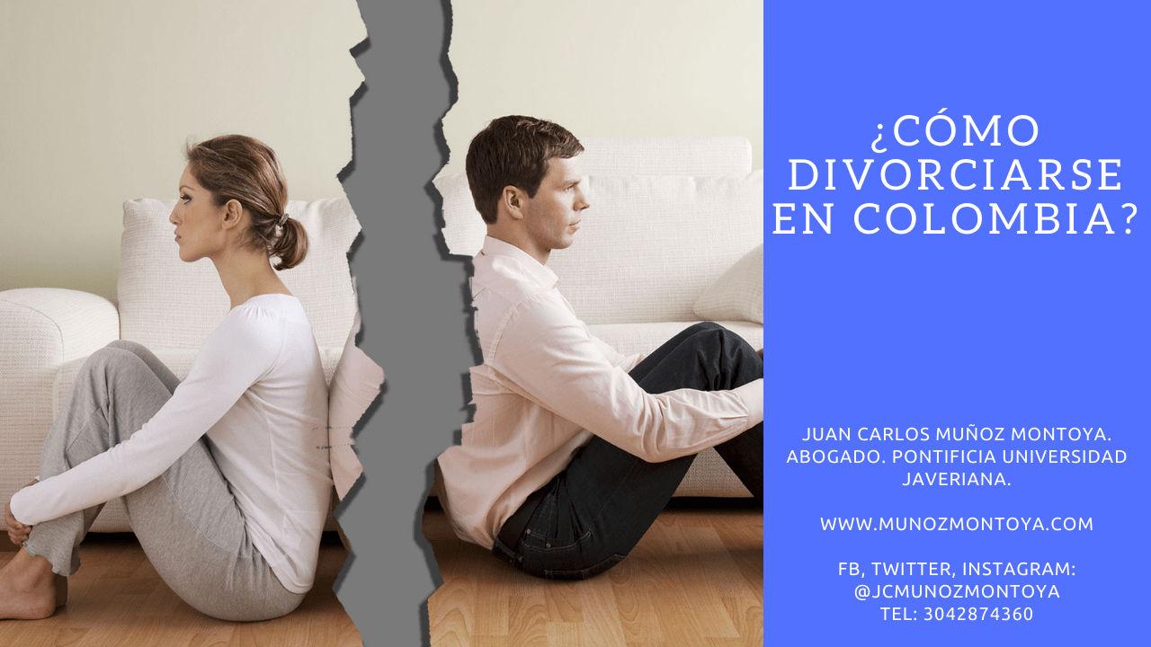 divorciarse en Colombia