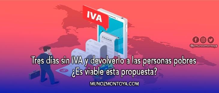 devolución del IVA a los más pobres