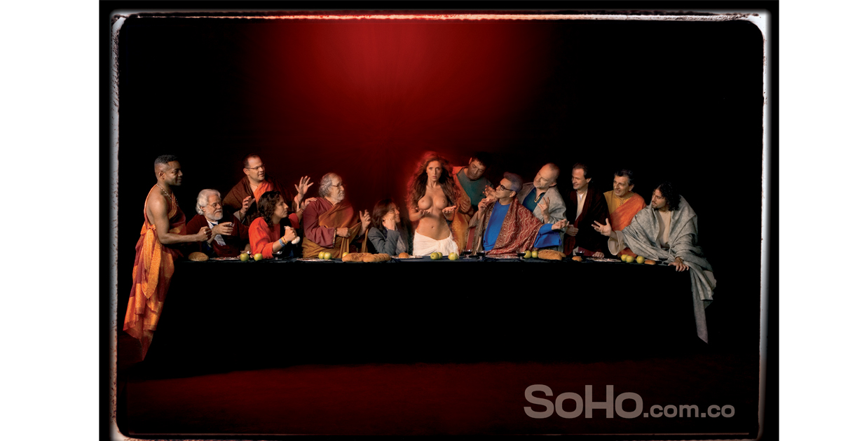 parodia ultima cena Soho