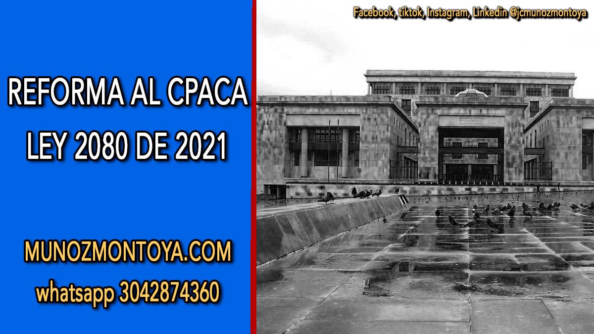 Ley 2080 2021
