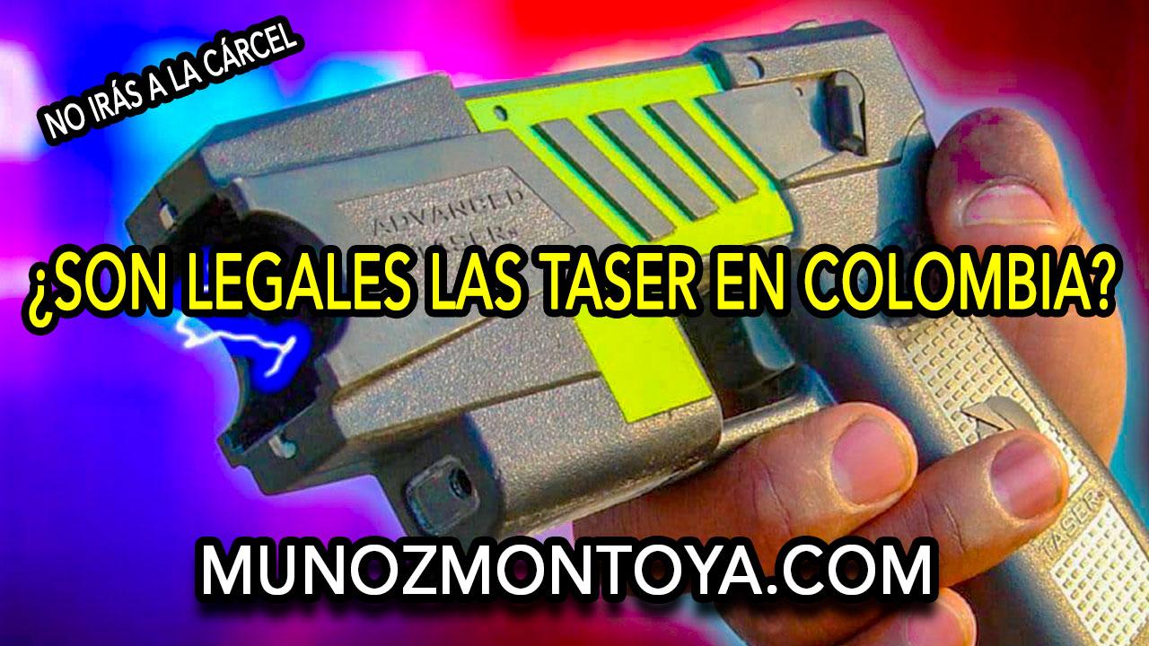 armas no letales en colombia
